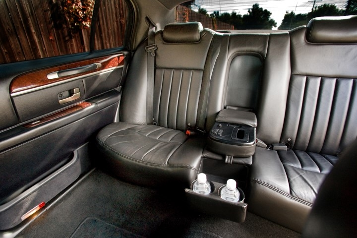 5 Passenger Sedan Interior