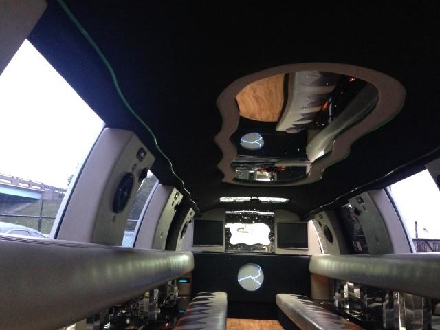 20 Passenger Cadillac Escalade SUV Limo Interior