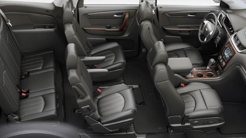 7 Passenger SUV Chevy Suburban Interior