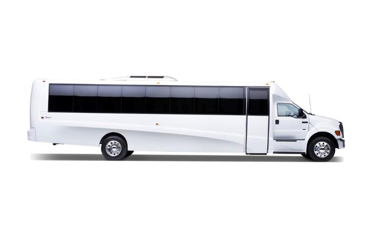 30 Passenger Limo Bus Exterior